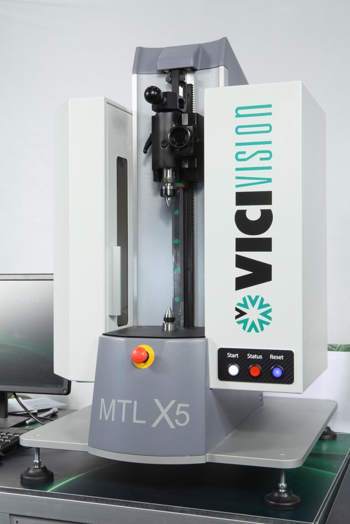 MTL X5-Small measurement machine for cylindrical parts, ideal for dental implant