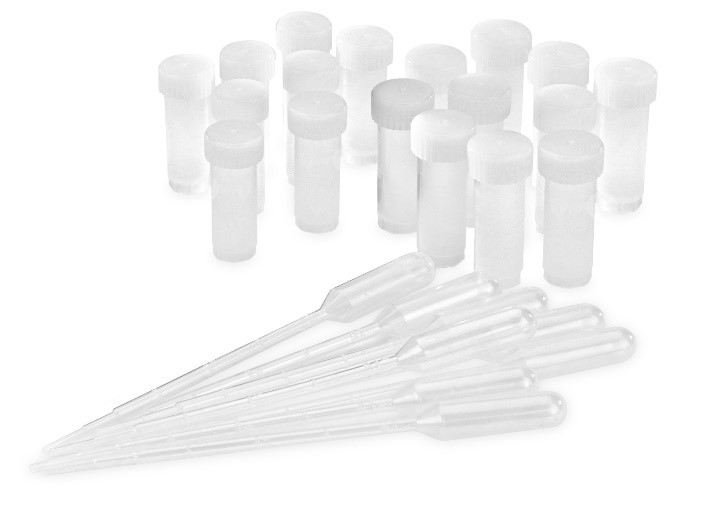 Vial Set with plastics for PCS Solutions