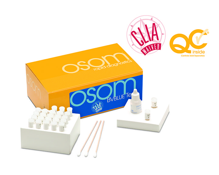 OSOM® BV blue control kit