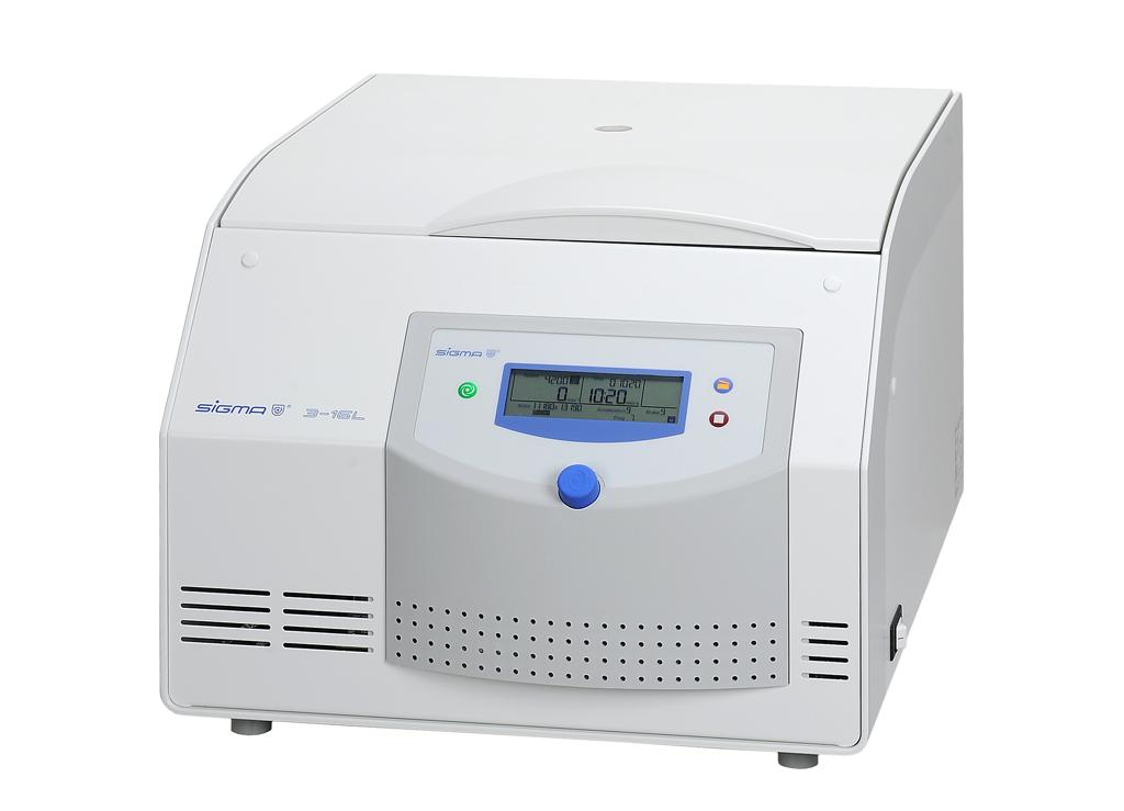 Sigma 3-16L Clinical Package, laboratory benchtop centrifuge, 220-240V, 50/60 Hz
