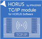Remote control TCP/IP module for HORUS